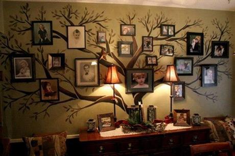 36 ideen f r originelle aufkleber collagen aus fotos stammbaum. Black Bedroom Furniture Sets. Home Design Ideas