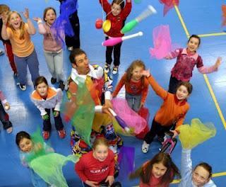 Zirkus-Schule Regensburg: Trainieren mit dem Weltmeister
