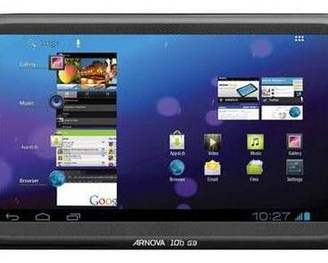 Archos startet neue Einsteiger-Tablet-Serie G3.