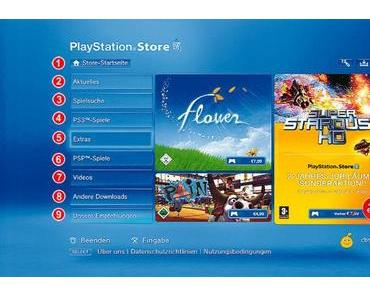 Playstation Store – DE Update