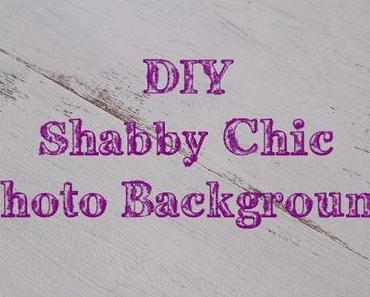 DIY Shabby Chic Photo Background