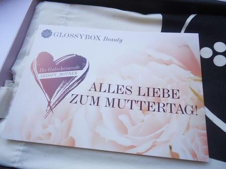 Glossybox Österreich - April 2012