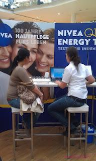 Nivea Q10 energy tour