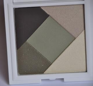 KIKO Blooming eyeshadow palette MISTY GREENS