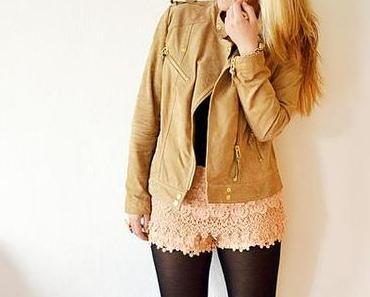 Zara Lace Shorts