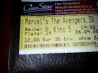 Kino: Marvel's The Avengers (26.04.2012)