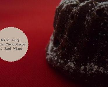 Dark Chocolate And Red Wine Mini Gugl