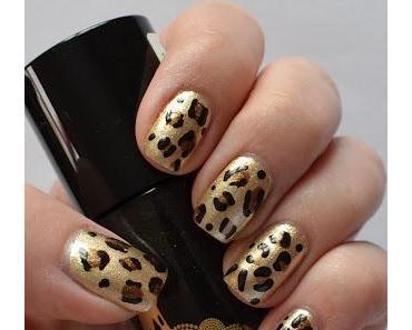 Nageldesign: Leopard Nails