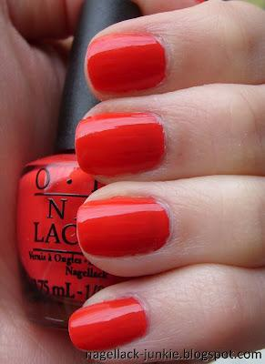 OPI Red Lights Ahead...Where? [Holland Collection]