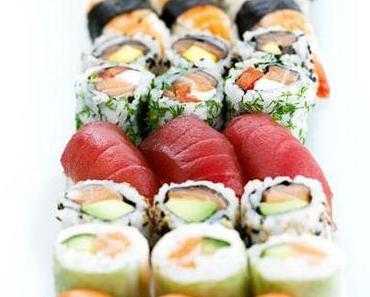 Wie man zuhause Sushi macht