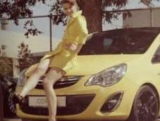 Germany´s Next Topmodel Lisa präsentiert Opel Color Line