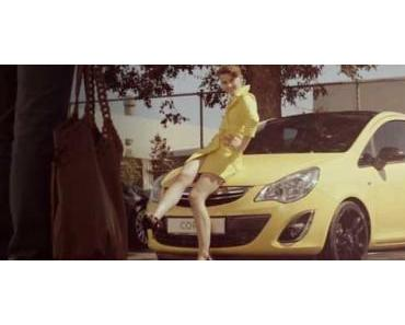 Germany´s Next Topmodel Lisa präsentiert den Opel Color Line