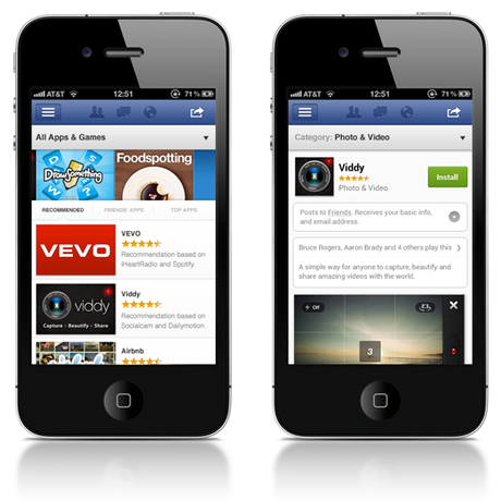 Facebook geht mit eigenem App Store an den Start