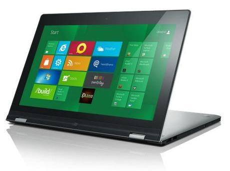 Lenovo kündigt Windows 8-Tablets an.