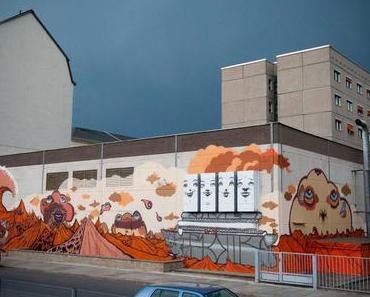 Zonenkinder unterwegs – Urbane Kunst von Leipzig bis Bochum