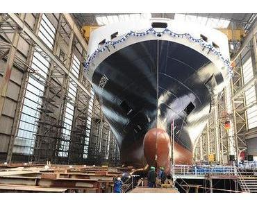Deutsche Werften steuern durch schwere See