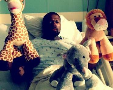 US-Rapper 50 Cent wegen Darminfektion im Krankenhaus