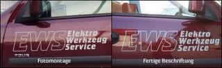 Werbung leicht gemacht mit der online Autobeschriftung