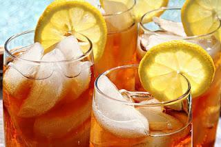 Selbstgemachter Ice-Tea