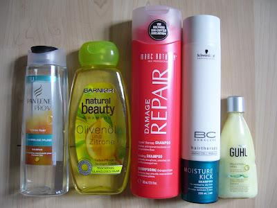 hair care routine shampoos for dry hair trockene haare. Black Bedroom Furniture Sets. Home Design Ideas