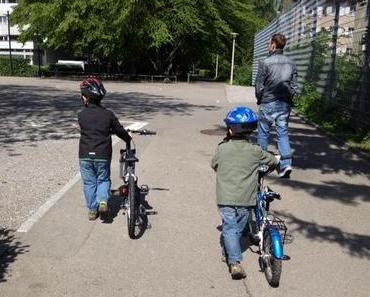 Velofahren: Der Grosse fährt nun ein Junior Bike!