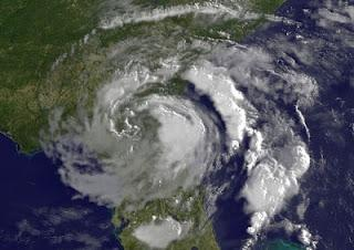 Tropischer Sturm BERYL befindet sich über Florida