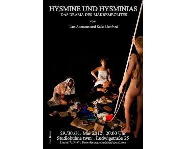 Hysmine und Hysminias – Lars-Keke Altemann/ Kalas Liebfried