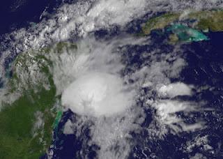 Wetterstörung vor Riviera Maya, Yucatán (Cancún, Playa del Carmen) - keine Sturmgefahr