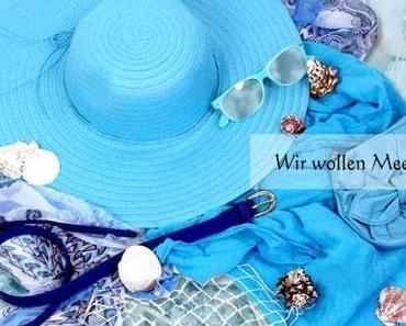 Wir wollen Meer! Sommertrend Aqua-Farben