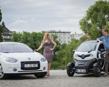 Barbara Schöneberger und Joko Winterscheidt werben für Elektromodelle aus dem Hause Renault