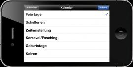 Urlaubsplan HD – zeigt Ihnen Urlaubs- und Arbeitszeiten übersichtlich auf dem iPad zum Einführungspreis