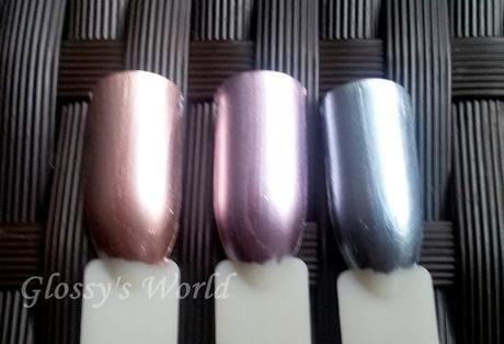 essie mirror metallics Lacke