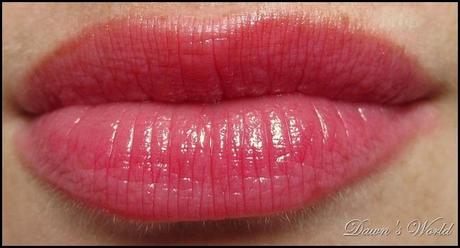 Rouge Caresse Lippen swatch