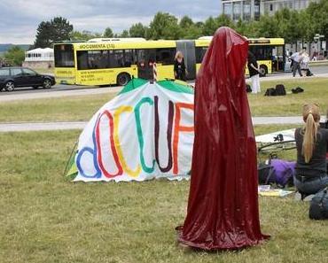"Fridericianum ""doccupy"" occupy Documenta Kassel – Time guards Manfred Kielnhofer"