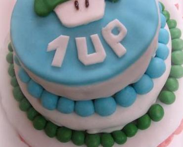 1Up Cake – oder schon wieder ein Jahr älter
