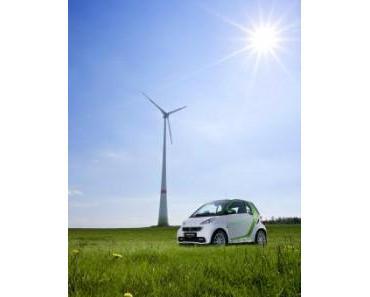 Vom Winde bewegt – der neue smart fortwo electric drive fährt komplett emissionsfrei
