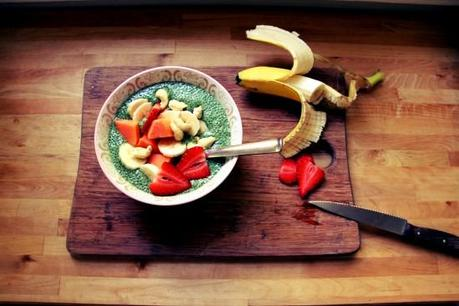 Green Tea Chia Pudding