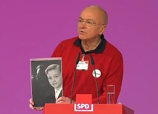 Tag 9 des Hungerstreiks von Norbert Denef
