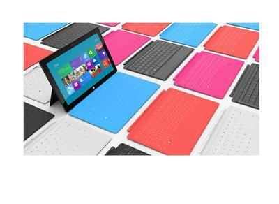 Microsoft stellt Surface-Tablet's vor.