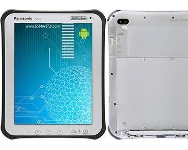 Panasonics erste Android Tablet in Asien enthüllt (Toughpad A1)