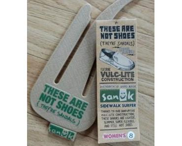 SANUK…these are not shoes, they`re Sandals !