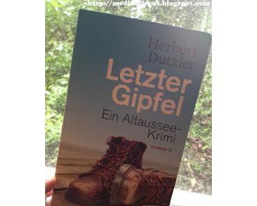 [rezension] Letzter Gipfel - Herbert Dutzler
