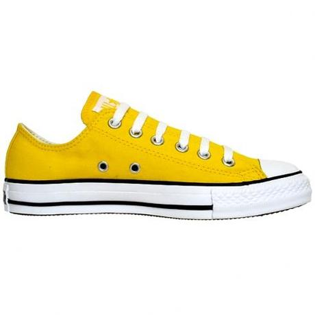 Converse Chucks OX 102998 Seasonal Buttercup Yellow Gelb Low