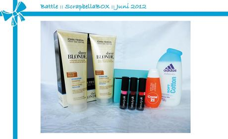 Battle :: GLOSSYBOX vs. ScrapbellaBOX :: Juni 2012