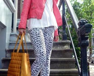 LOOK OF THE DAY: Leoparden-Hose