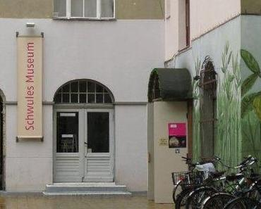 Petra Gall und Rüdiger Trautsch im Schwules Museum