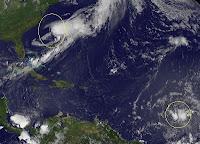 Sturmsituation Tropen global