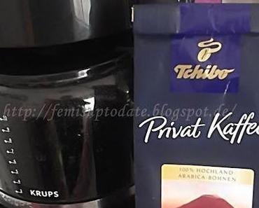 "Tchibo Private Kaffee "" Vulkan-Bohnen"""