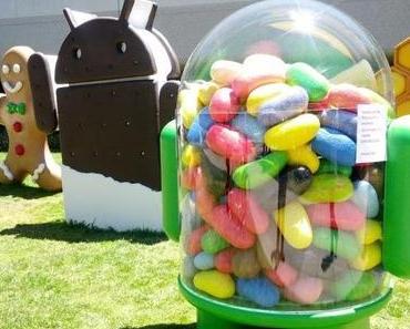 Google's Jelly Bean ohne Flash Ünterstützung