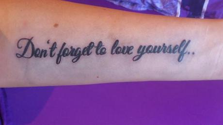 Neues Tattoo ♥